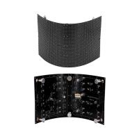 Buy cheap P2 SMD Indoor Flexible Led Video Curtain , Flexible Led Display Screen Full from wholesalers