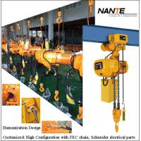 Buy cheap Maintenance HHBB Electric Chain Hoist With Hook High Configuration from wholesalers