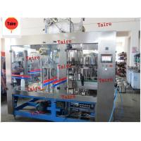 HDPE filling machine Automatic Complete Orange Juice HDPE Bottle Filling Machines Manufactures