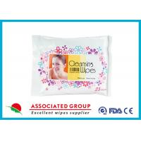 Nonwoven Hand Makeup Remover Wipes Feminine Hygiene Individual Resealable Pack Manufactures