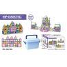 168 Pcs Magetic Plastic Building Blocks Educational Toys / Construction Building for sale