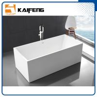 Quality Small Stand Alone Bathtubs , Deep Freestanding Soaking Tubs For Small Spaces for sale