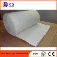 Fireproof Refractory Ceramic Fiber Blanket Insulation For Industrial / Steel Manufactures