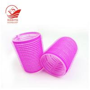 China Plastic Jumbo Hook And Loop Hair Rollers For Short Hair , Hair Curlers Rollers on sale