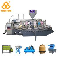 4.6*3.6*2.3m Automatic Plastic Slipper Injection Moulding Machine With Cooling System Manufactures