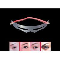 12 Style Transparent Eyebrow Shaping Mold With Accurate Measurement Manufactures