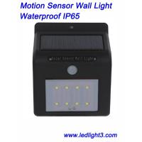 Solar Sensor Wall Led Lights Wireless IP65 Waterproof Outdoor Lighting Motion Sensor for Garden, Yard Manufactures