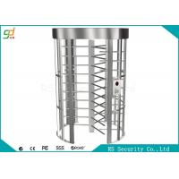 Single Channel High Security Turnstiles Barrier Gate with stainless steel Manufactures