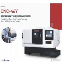 Y - Axis Cnc Turning Machine , Cnc Turning Machine With High Efficiency Manufactures