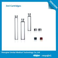 NO Silicide Insulin Pen Cartridge Neutral Borosilicate Glass Material Manufactures