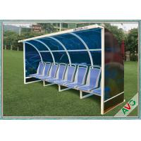 OEM Soccer Field Equipment Portable Football Substitute Bench For Vip Seats Manufactures