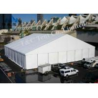 Aluminum Frame Trade Show Tents 100KM / H Wind Load For Promotional Activities Manufactures