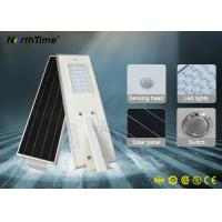 20 Watt Solar Integrated Street Light Phone APP Infrared Motion Sensor MPPT Controller Manufactures
