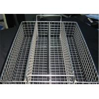Corrosion Resistance Hardware Wire Mesh Filter , Extra Large Wire Storage Baskets For Disinfecting Manufactures
