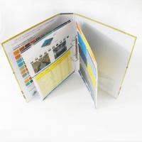 Customized Catalog Color Booklet Printing with hot stamping for promotion, marketing  Manufactures