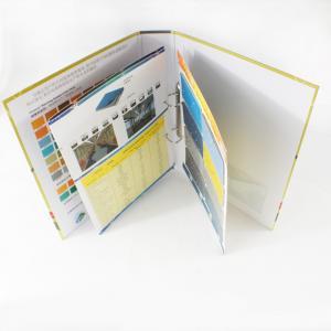 Brochure printing, glossy / matt lamination duplex board Color Booklet Printing Service Manufactures