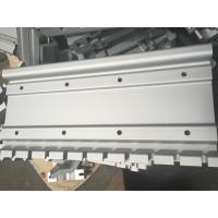 Silver Color Alkali and Sand Oxidation Industrial Aluminum Profiles with CNC Drilling Manufactures
