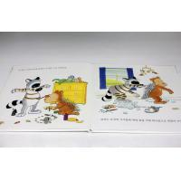 Personalised Children Reading Hardcover Photo Book Printing With Foam / CD Manufactures
