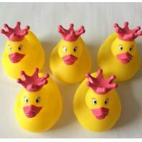 Quality Dot Crown Princess Christmas Rubber Duck Toy For 3 Year Olds Bath Time for sale