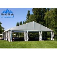 PVC Rooftop Waterproof Canopy Tent With Sandwich Panel Wall / Electric Shutter Door Manufactures