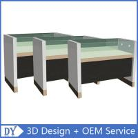 Simple Wooden Timber Glass Display Counters With Factory Competitive Price