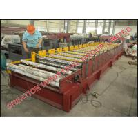 China Cameroun Aluzinc Roofing Sheet Roll Forming Machine With Electric Decoiler on sale