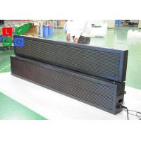 Quality Module Size 320x160mm Programmable LED Sign , 10mm Pixels LED Message Board for sale