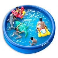 Famliy Intex PVC Infalatble Water Sport Toys , 0.6 mm Thickness PVC Inflatable Pool Manufactures