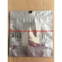 Customized Made  Underwear Plastic Poly Bags With Hangers Hook 3 Colors Gravure Printing Manufactures