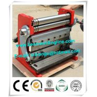 Steel Plate Hydraulic Shearing Machine And Bending Machine , Rolling And Bending Machine Manufactures