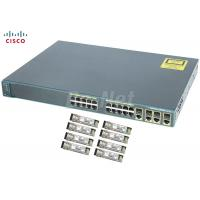 China 24 Port 10/100/1000M Used Cisco Gigabit Switch WS-C2960G-24TC-L With 4T/SFP on sale