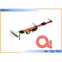 Overhead Crane High Tro Reel System , 50-140A 600V Insulated Outdoor Rails Manufactures