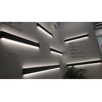 China Commercial Linear Wall Light Fixtures , AC85-265V Linear Suspended Led Lighting on sale