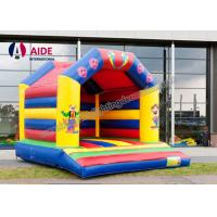 Cartoon Inflatable Bouncy Castle Rental , Outdoor Play Equipment For Toddlers Manufactures