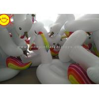 Quality Sunway Unicorn Inflatable Water Floats Giant 270cm PVC Animal Pool Floating Toys for sale