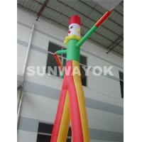 OEM Commercial Inflatable Air Dancer Printing Company Name With Triple Stitching Manufactures