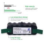 Melasta High Capacity 4600mAh 14.4v NI-MH Vacuum battery for iRobot Roomba R3 500 600 700 800 Series 510 530 531 532 620