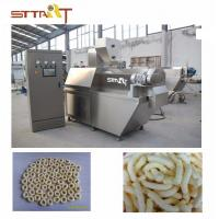 High Performance SS Twin Screw Food Extruder Machine Siemens PLC Controlled Manufactures