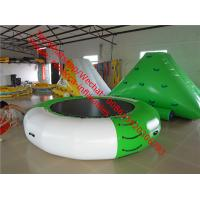 Inflatable water trampoline inflatable auqa water park game for sale in stock Manufactures