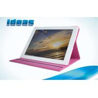 China Book Flip PU Apple iPad Leather Cases for Women , Waterproof Screen Cover on sale