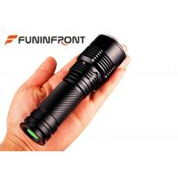 Water Resistant Super Bright CREE XM-L T6 Handheld Zoom LED Flashlight Manufactures