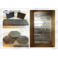 SIC / Silicon Carbide Bulletproof Plates For Body Armor / Vehicle Armor / Aircraft Armor Manufactures