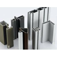 Anodized Aluminium Door Profiles , European Standard Aluminium Door And Window Frames Manufactures