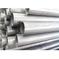 Brushed AISI 201 28mm Stainless Steel Welded Tube Stain Finish Wide Application Manufactures