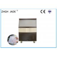 Automatic Air Cooled Ice Machine , SS304 Shell Commercial Ice Machine Manufactures