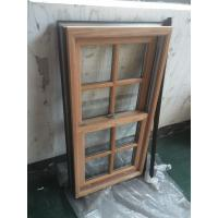 Powder Coating / Wooden Grain Aluminium Window Profiles GB / T6892-2006 Manufactures