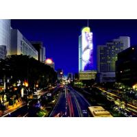 Media Facade Flexible LED Screen , Flexible Led Curtain Display Easy Installation Manufactures
