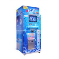 Restaurant Commercial Ice Vending Machine Charged By Coin / Note CE Approval Manufactures