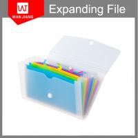 China Popular design wholesale Office stationery portfolios pp foam expanding file folder on sale