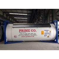 China Medium Vinegar T11 ISO Full Frame Collar Tank Max Weight -40℃-130℃ 36000kg on sale